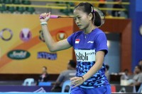 Target Fitriani di Babel Indonesia Masters 2018