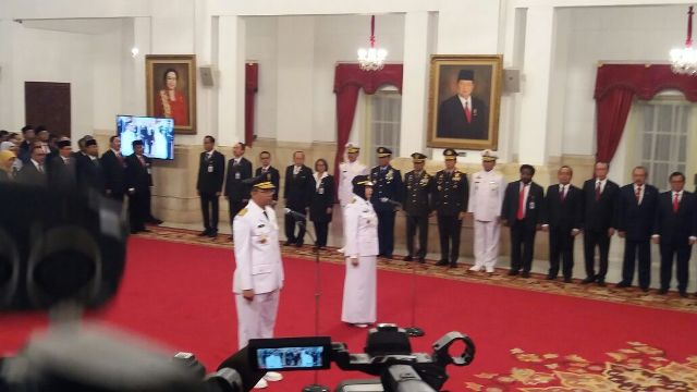 Jokowi Inaugurates New West Nusa Tenggara Governor