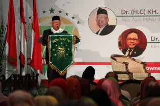 Ma'ruf Urges Muslim Economists to Support RI's Economy