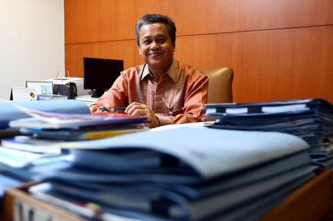 Bank Indonesia Governor Perry Warjiyo (Photo:MI/Panca Syurkani)