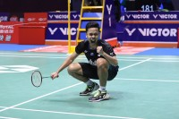 Cerita Ginting Taklukkan Momota di Final China Open 2018