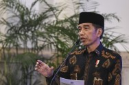 Jokowi Inaugurates East Kalimantan, South Sumatra Governors