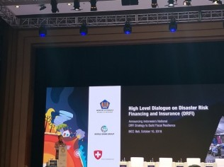 Indonesia Raises Issues of Disaster Risk Financing and Insurance