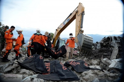 the disaster has killed more than 2,000 people (Photo:MI/Susanto)