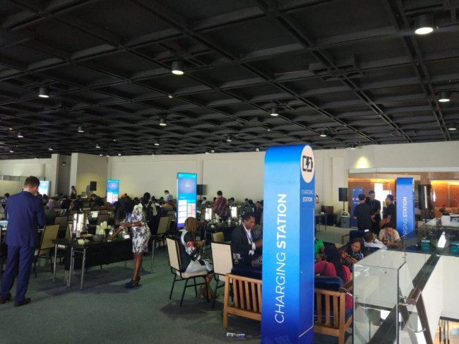 Mengintip Situasi Media Center IMF-WB 2018