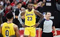 Debut LeBron James Tercoreng