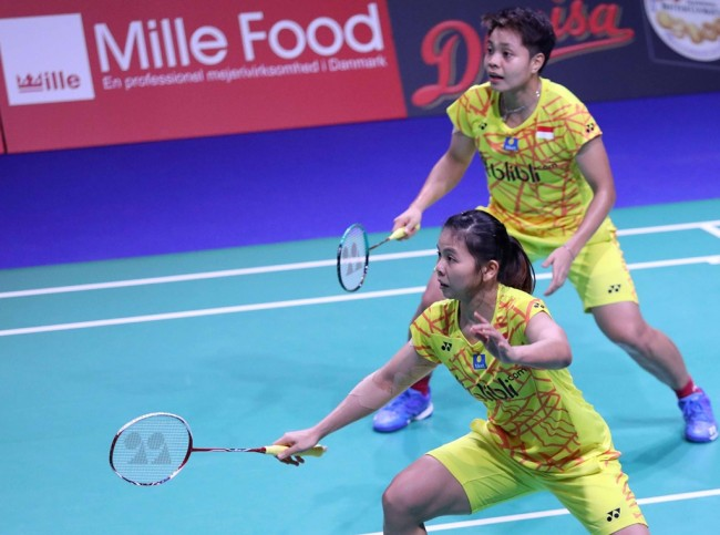 Greysia/Apriyani Gagal ke Final Denmark Open