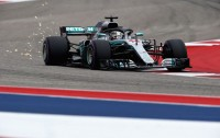 Hamilton <i>Start</i> Terdepan di GP AS