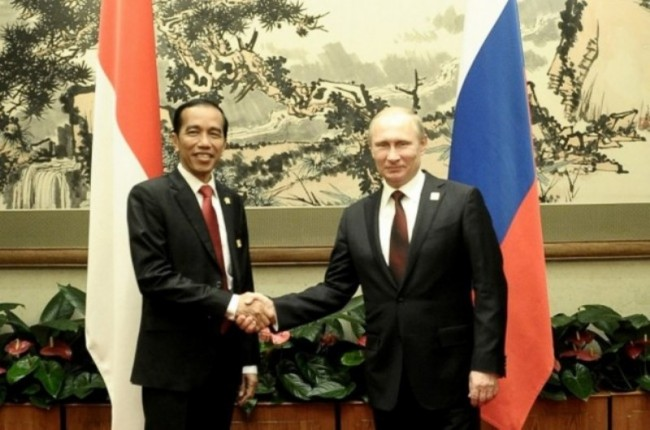 Jokowi, Putin to Meet during East Asia Summit