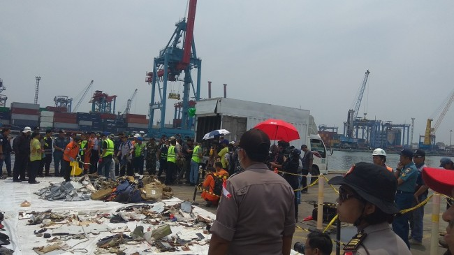 Lion Air Debris Handed Over to KNKT