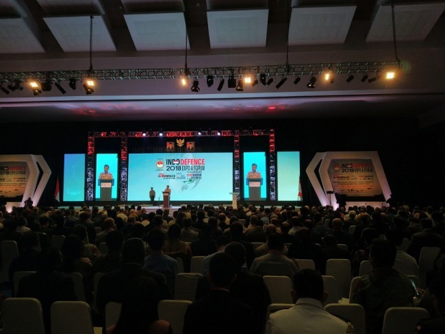 VP Kalla Opens 2018 Indo Defence Forum and Expo