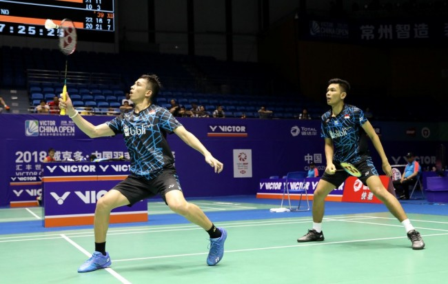 Fajar/Rian Juara Turnamen Syed Modi International 2018