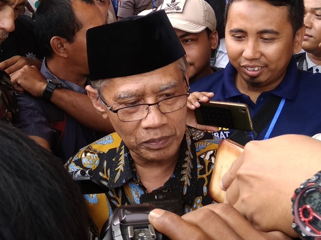 Muhammadiyah Chairman Rejects Amien's Call to Take Sides in Elections