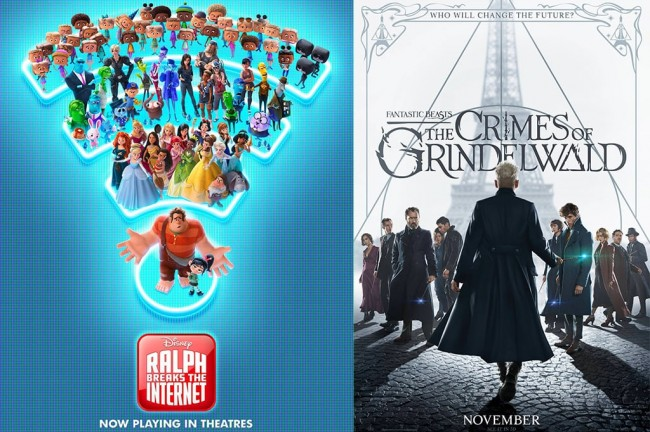 Wreck-It Ralph 2 dan Fantastic Beasts 2 Bersaing di Box Office