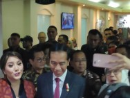 Jokowi Attends Metro TV's 18th Anniversary Event