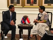 Indonesia, Cambodia Ready to Promote Indo-Pacific Concept