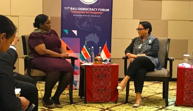 Indonesia Akan Latih Diplomat Suriname