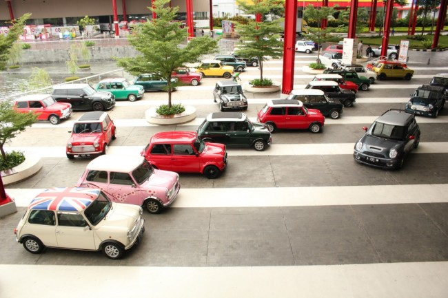MINI 'Berlebaran' di BSD City