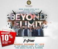 Beyond The Limit, Pesta Tahun Baru dari The Media Hotel & Towers