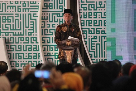 Jokowi Reiterates Importance of National Unity