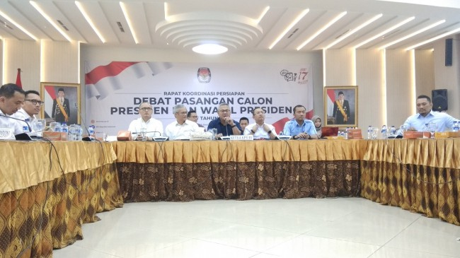 KPU to Hold All Presidential Debates in Jakarta