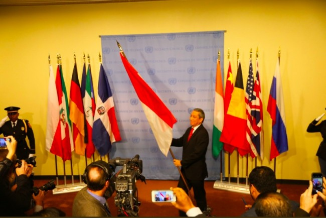 Indonesia Starts Its Membership in UN Security Council