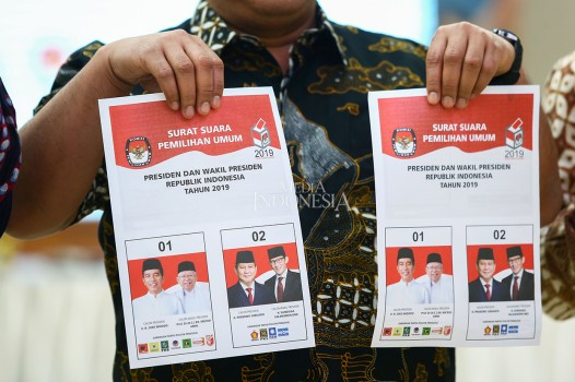 KPU Mulai Cetak Surat Suara Pemilu 2019 Besok