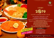 Sajian Menu Khas Imlek 2019 dari The Media Hotel & Tower