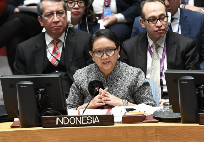 Indonesia Raises Palestinian Issue at UN Security Council