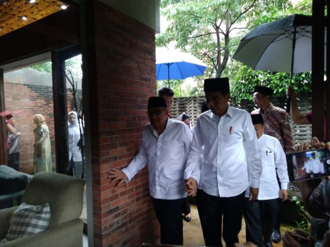 Jokowi Meets with Quraish Shihab