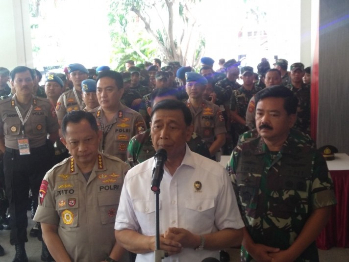TNI, Polri to Strengthen Cooperation to Secure 2019 Elections
