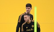 Courtois Tunggu Hazard di Real Madrid