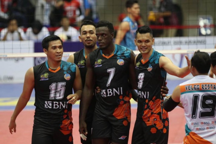 BNI 46 Juara Final Four Proliga 2019