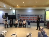 Staf Humas Kemendikbud Ikuti Workshop Jurnalisme di Media Group