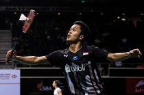 Anthony Ginting ke Final Singapura Open