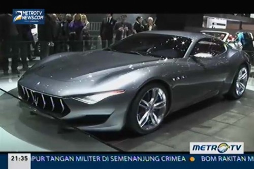 Lebih Meriah di Geneva International Motor Show 2014