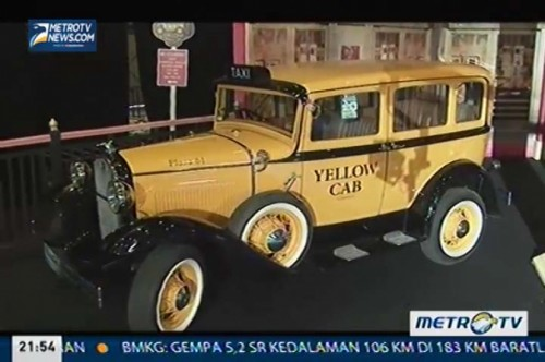 Stan Unik di 7th Indonesia Classic Car Show 2013