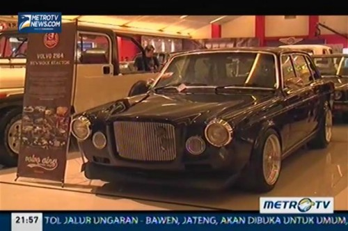 Pertarungan Sengit di 7th Indonesia Classic Car Show 2013