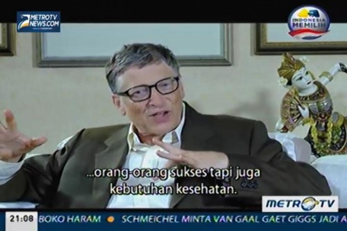 Face To Face: Bill Gates (1)