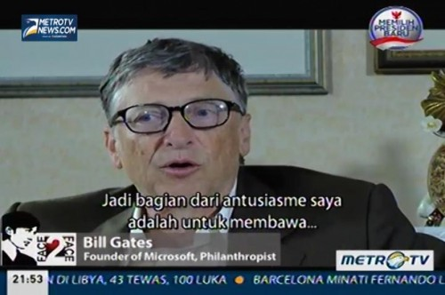 Face To Face: Bill Gates (5)