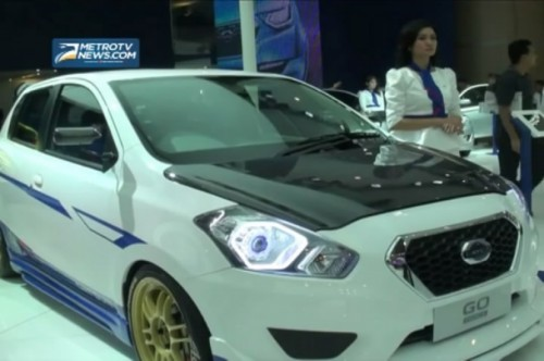 Datsun Ramaikan Ajang Indonesia International Motor Show (IIMS) 2014