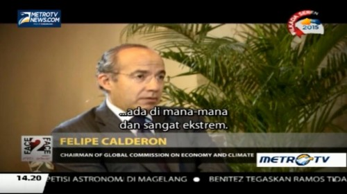 Face to Face with Felipe Calderon (2)