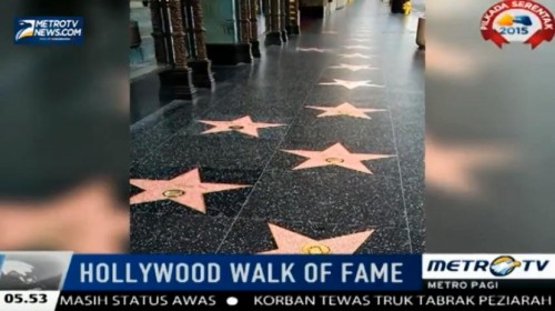 Nama Mariah Carey akan Diabadikan dalam Hollywood Walk Of Fame