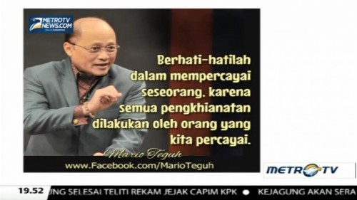 Mario Teguh Golden Ways: Super Telikung (2)