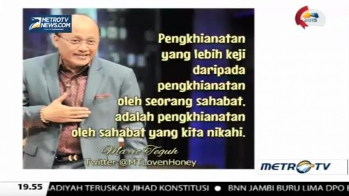 Mario Teguh Golden Ways: Super Telikung (3)