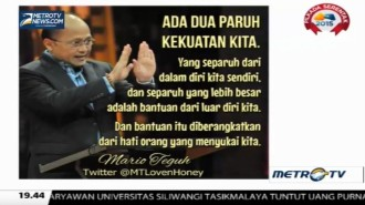 Mario Teguh Golden Ways: Melting, Cair Saja (2)