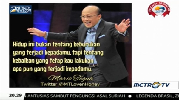 Mario Teguh Golden Ways: Melting, Cair Saja (6)