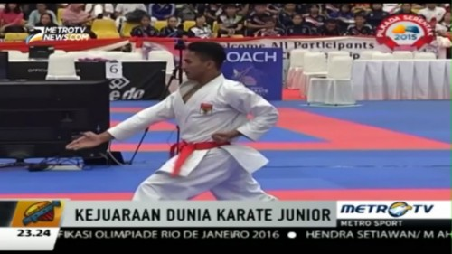 Indonesia Raih Satu Medali Emas di World Karate Championship