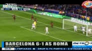 Barcelona Gilas AS Roma 6-1