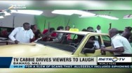 Mali TV Cabbie Drives Viewers to Laugh